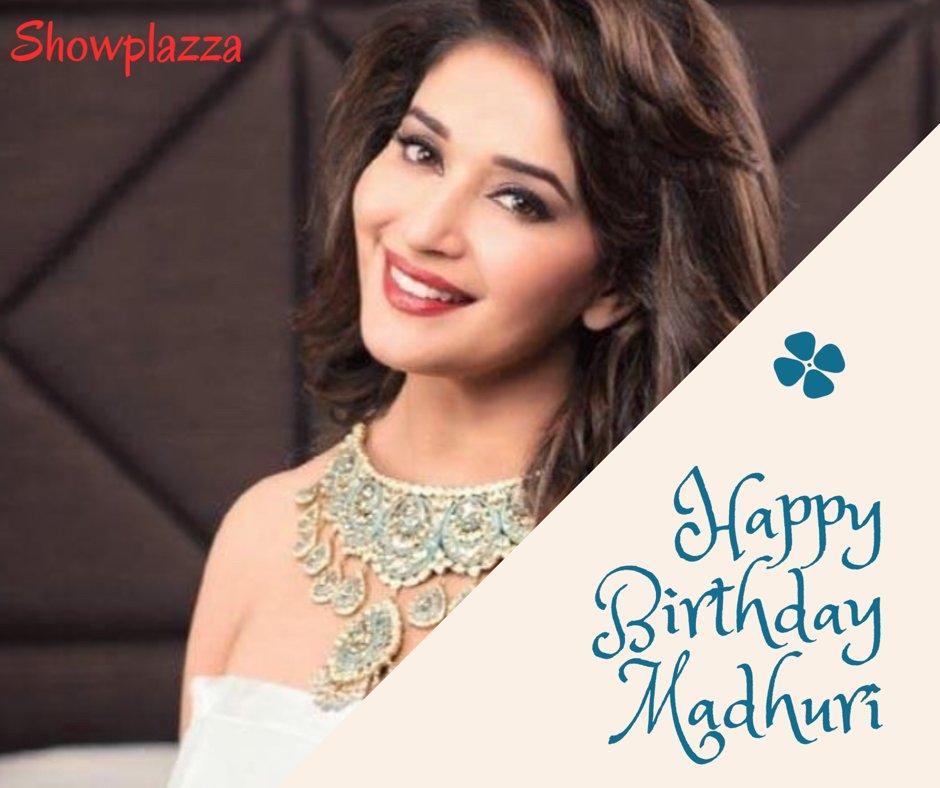 Here s wishing the  Dhak Dhak  girl, Madhuri Dixit-Nene,a very happy Birthday..