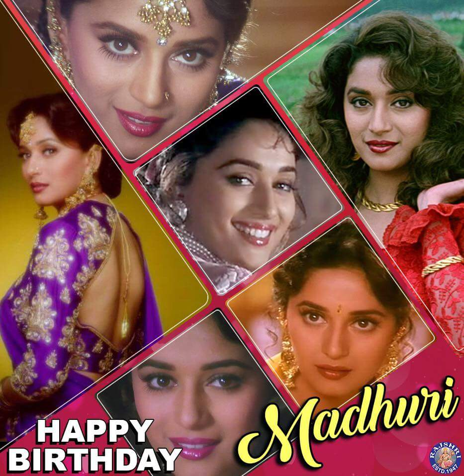 Wishing Madhuri Dixit - Nene aka Nisha a very Happy Birthday ma\am....