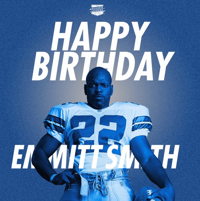 Happy 49th birthday to Emmitt Smith!