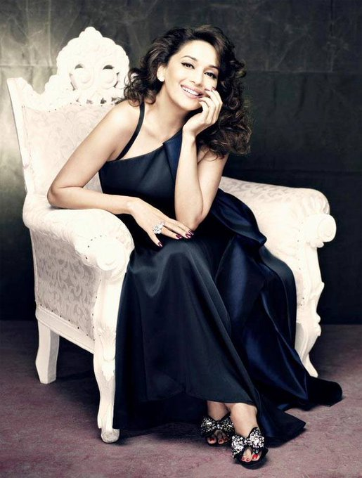 team wishes the megastar Madhuri Dixit - A very happy birthday!