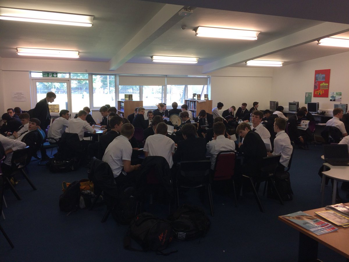 test Twitter Media - Year 11 engaged in purposeful last minute revision for their first whole cohort GCSE exam today. The library was 'buzzing!' Really focused students. Well done. https://t.co/ssQPeZ7o83
