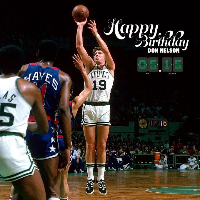 Happy Birthday to 5x Champion Don Nelson