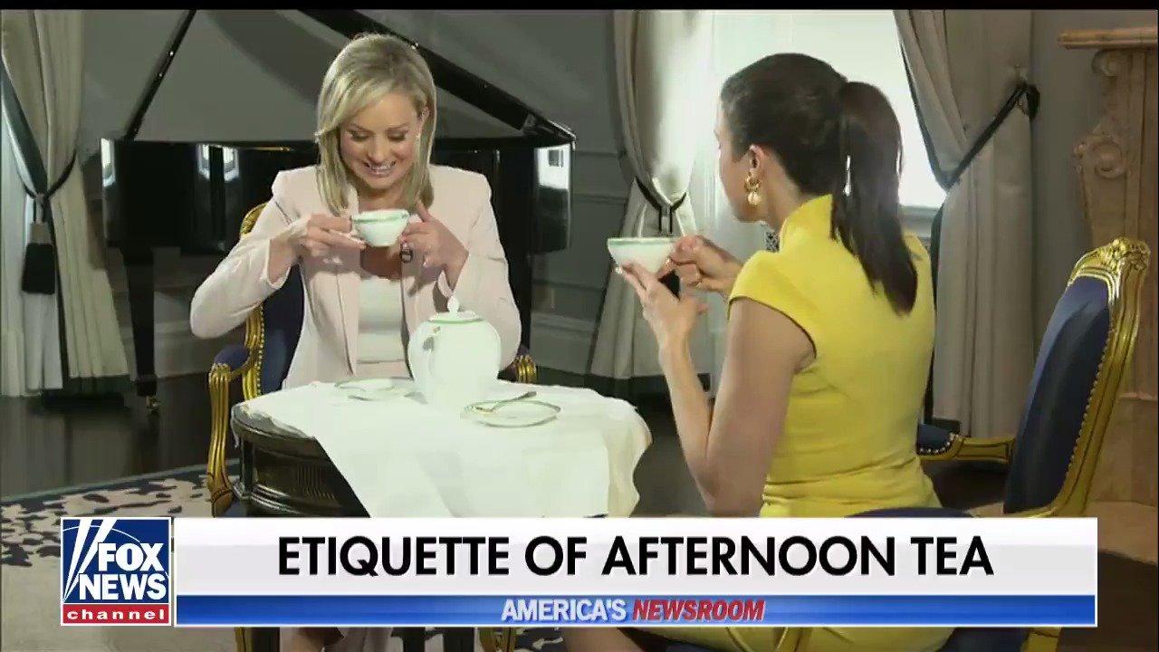 Etiquette of afternoon tea @SandraSmithFox @AmericaNewsroom https://t.co/VJDFW4THzp