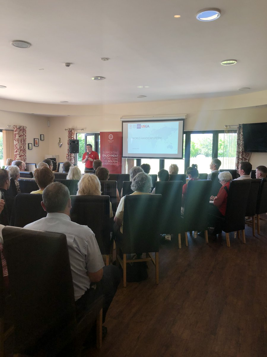 test Twitter Media - We're very happy to be hosting the @EnglandGolf World Handicapping System Workshop here at The Bedford today. The workshop is introducing the new single World Handicap System for the sport. https://t.co/Hh1bwnjw9p