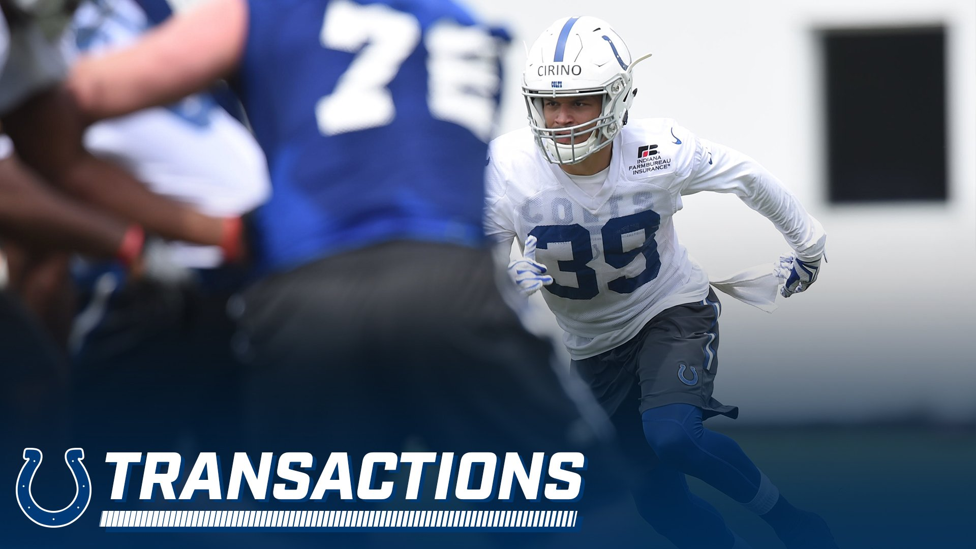 We have signed rookie minicamp tryout S Michael Cirino and released CB Kenneth Acker: https://t.co/6psiyN4ErU https://t.co/bZfS6GNmhd