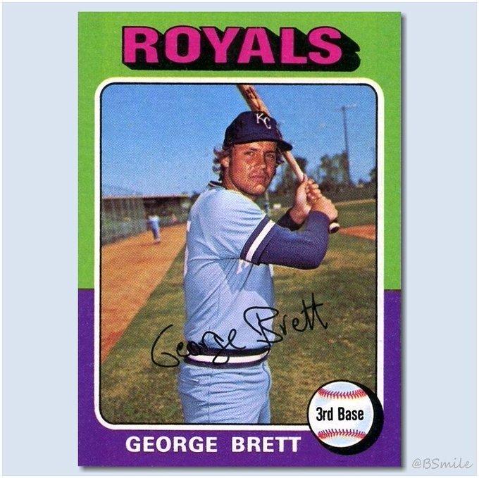 Happy Birthday George Brett! - The Kansas City legend turns 65 today!