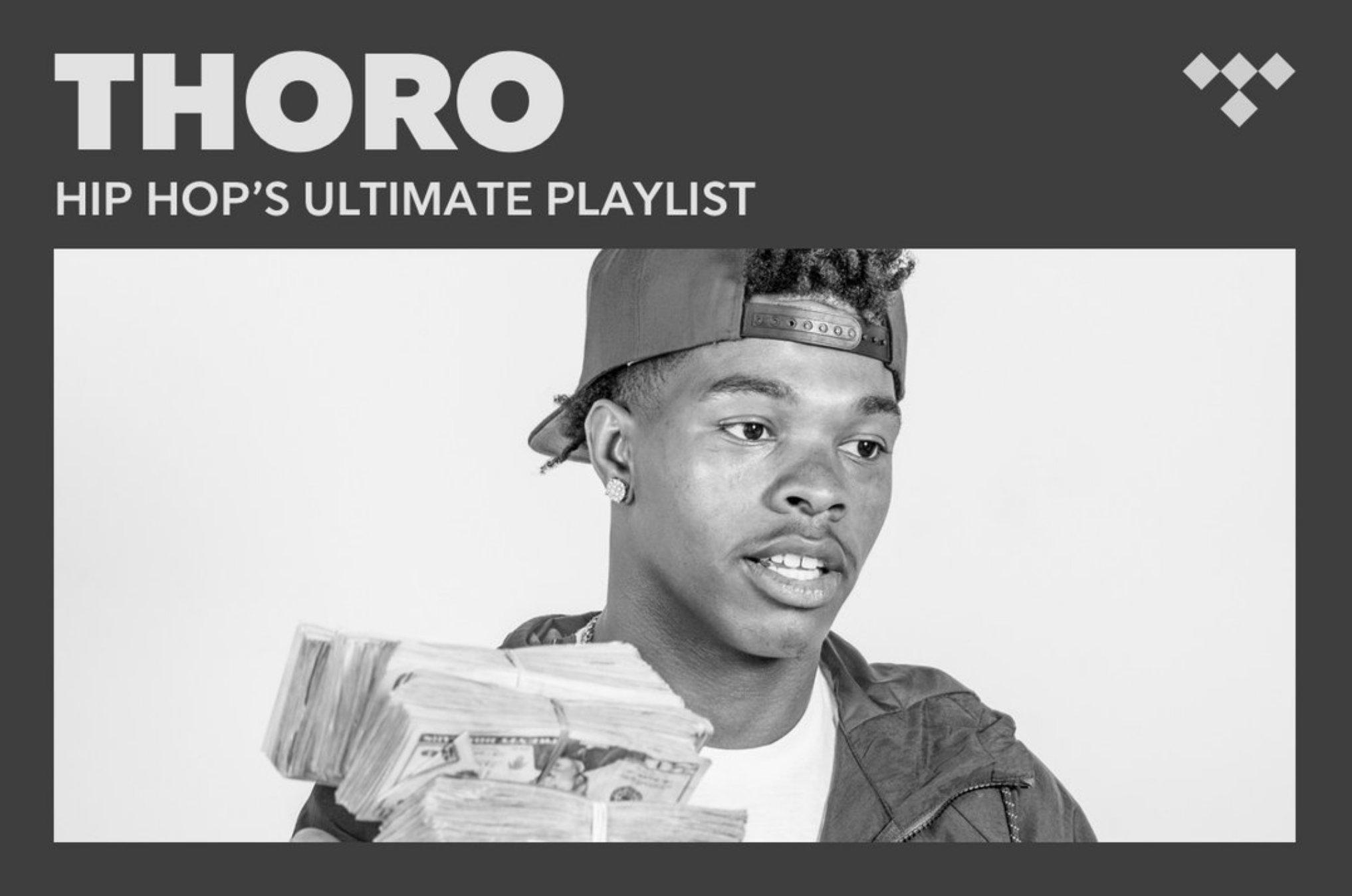 #Thoro Hip Hop's Ultimate Playlist https://t.co/ZYQ2uPMg8d #TIDAL https://t.co/vYTt40UMeo