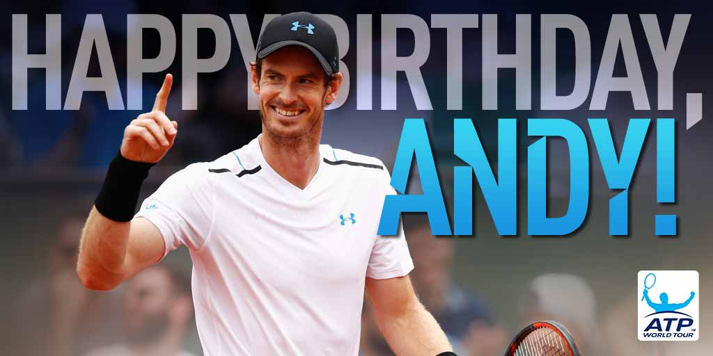 Happy Birthday, andy_murray!  We can\t wait to have you back on the court
