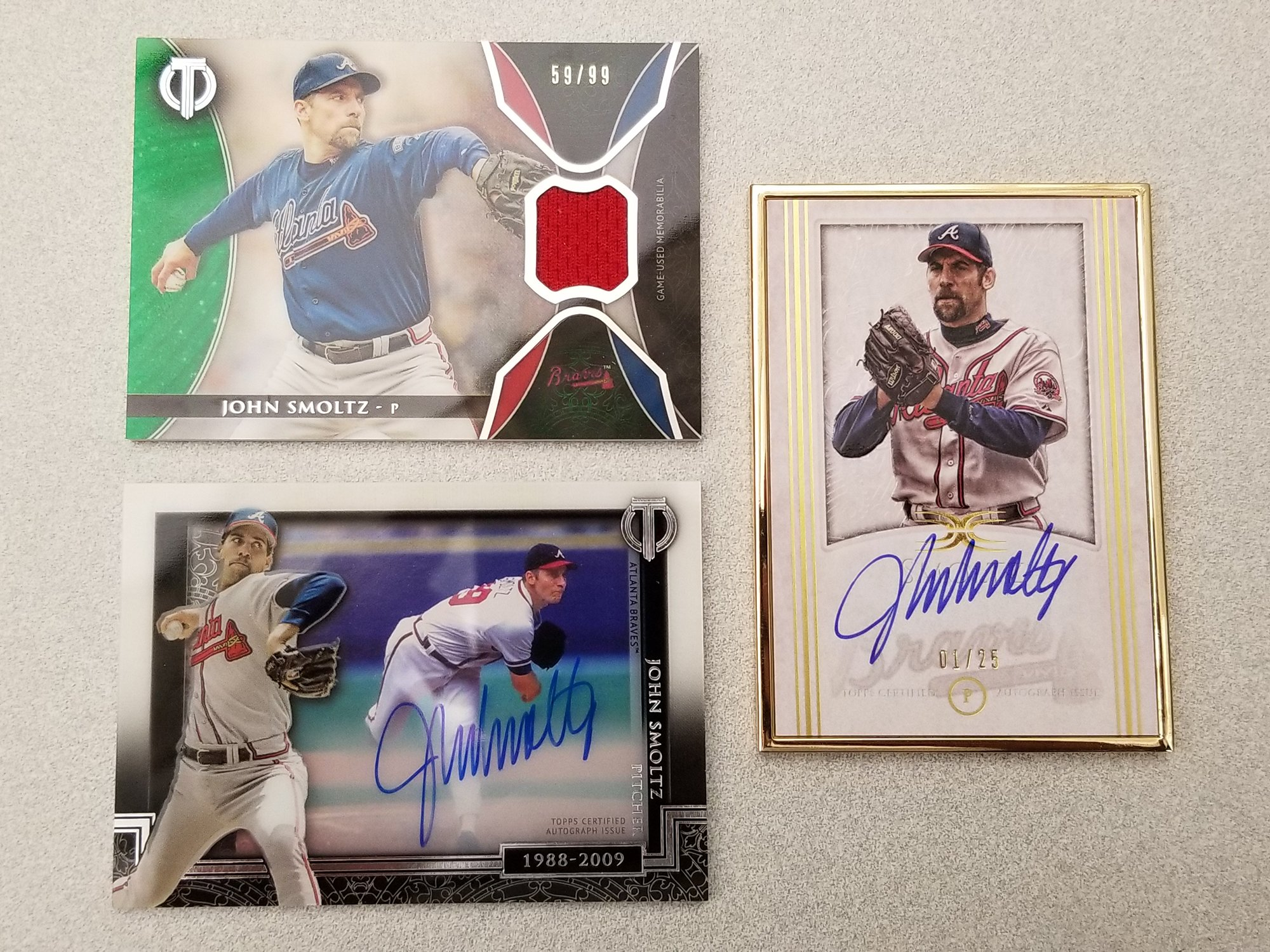 It's Smoltzie's 51st birthday! You know what's next.     RT for a chance to win one of these #MLBCards! https://t.co/7CI1OHfjVg