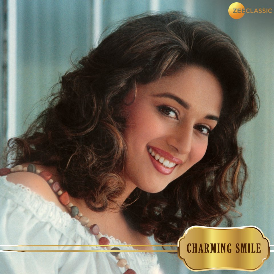 Happy Birthday of Madhuri Dixit and her smile  live long