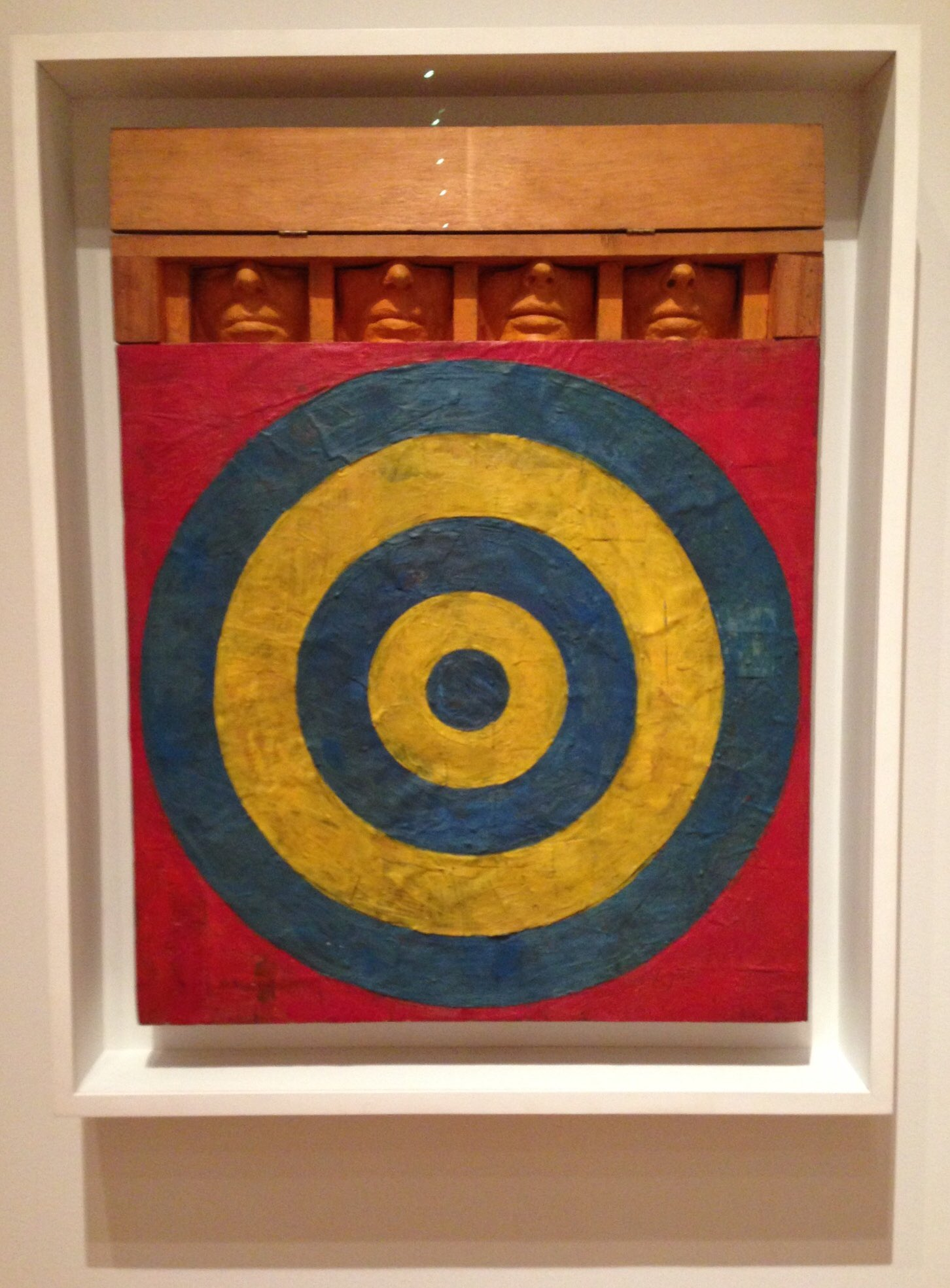 Happy Birthday Jasper Johns. I saw Target with Four Faces  in 2013