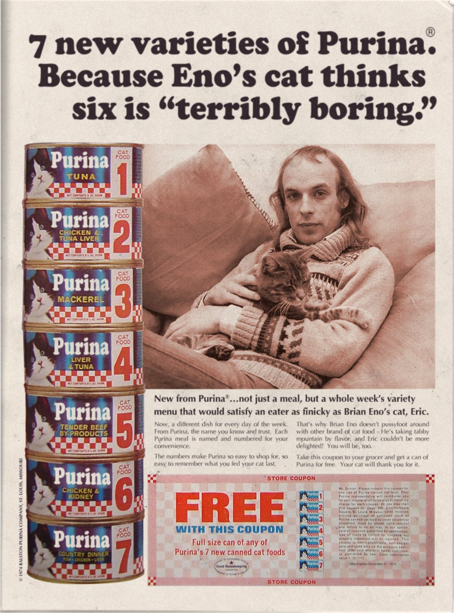 Happy ambient birthday to Brian Eno, 70 today!