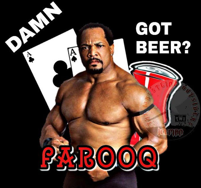 Happy birthday to WWE legend Ron Simmons. Hope he has a DAMN good birthday!!