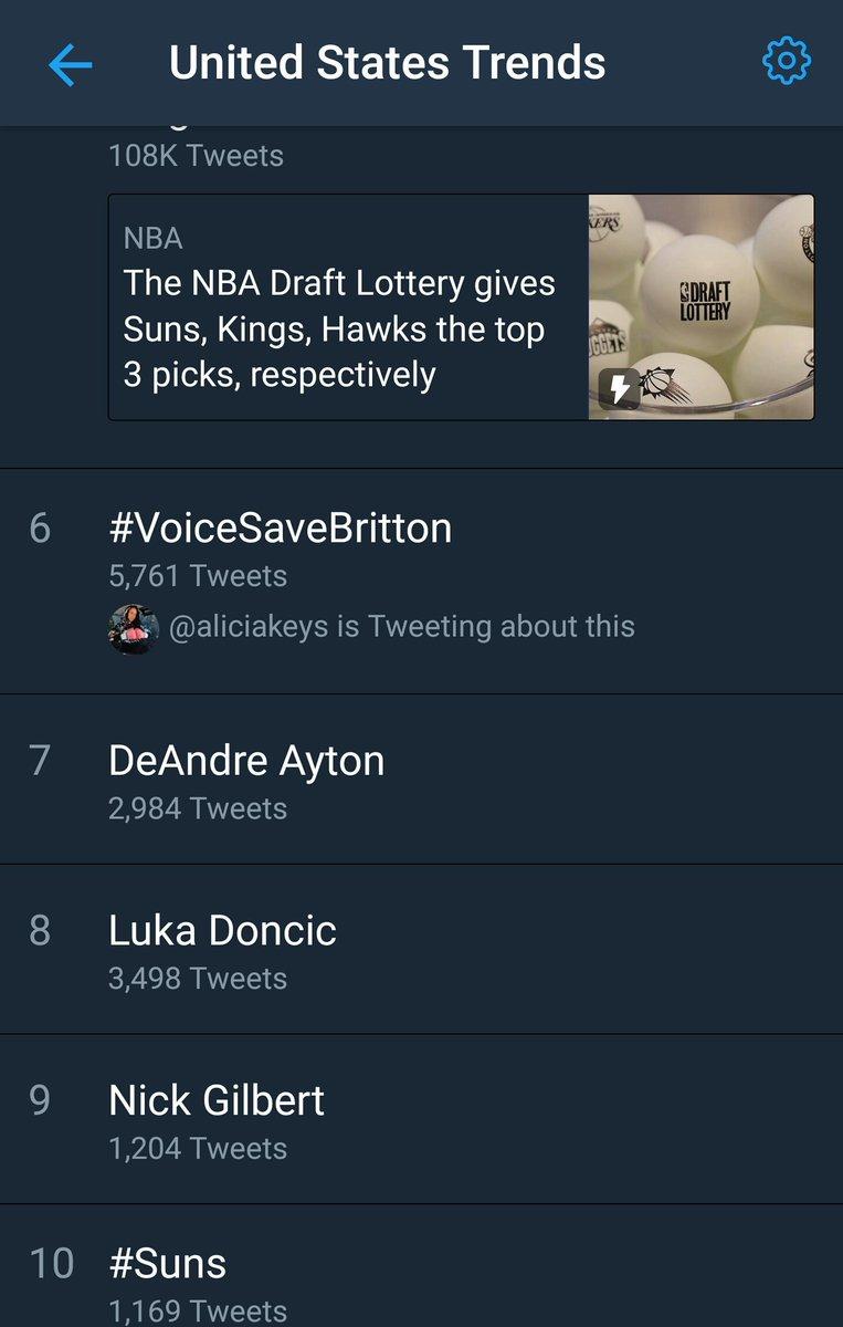 RT @Armandooo___: He's already trending come on keep rt'ing #VoiceSaveBritton https://t.co/m0hqJIduNe