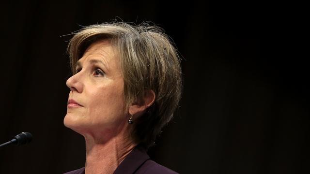 Sally Yates: Trump is 'tearing down the legitimacy' of the Justice Dept https://t.co/lPlbSJJGMG https://t.co/RoK6Ohmxyz