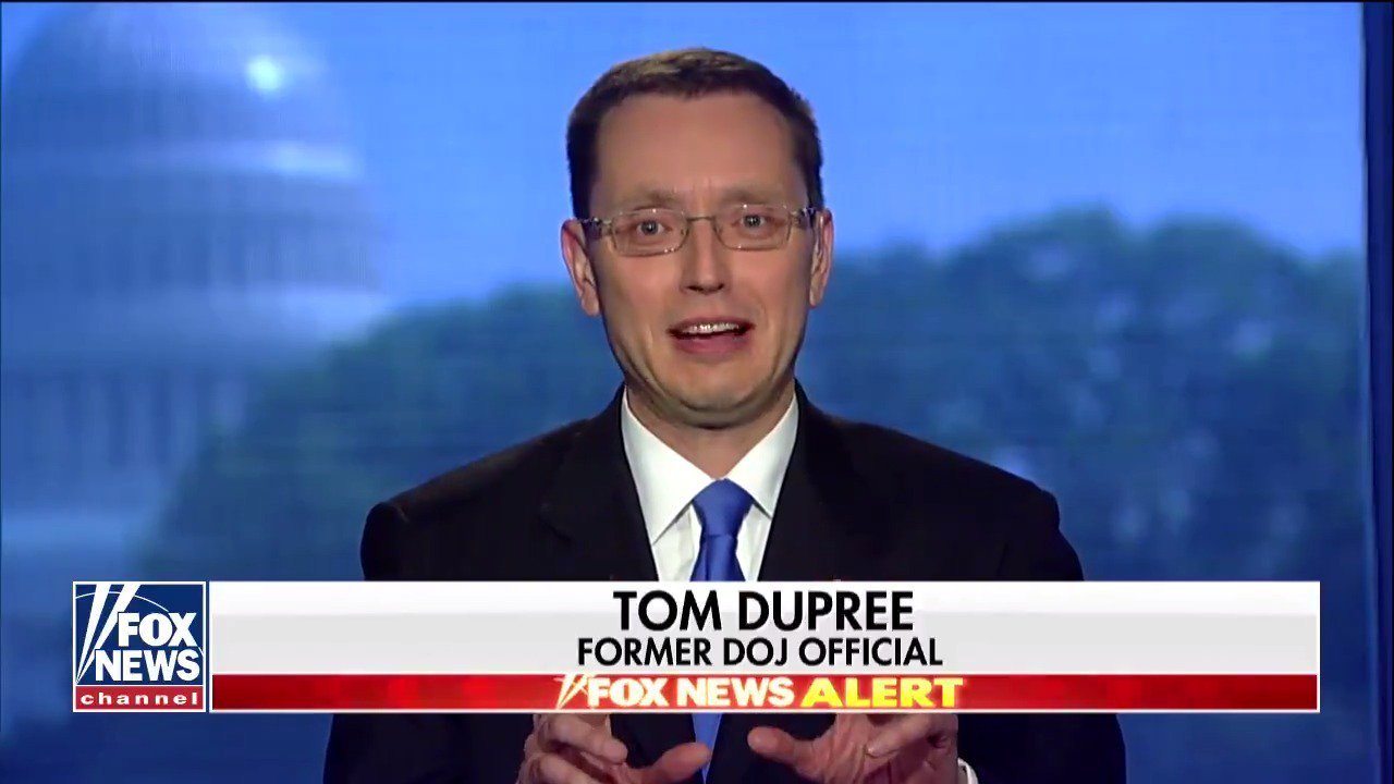 Former DOJ official Tom Dupree on the Mueller investigation: 'It's not anywhere near done.' #Cavuto https://t.co/fTCx9UX0z7