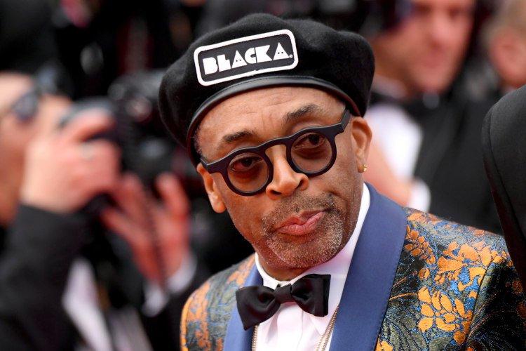 Spike Lee called out 'right-wing bullshit' at the BlacKkKlansman Cannes premiere. https://t.co/GeBJ5Rr5UF https://t.co/Z6yEUSPrjt