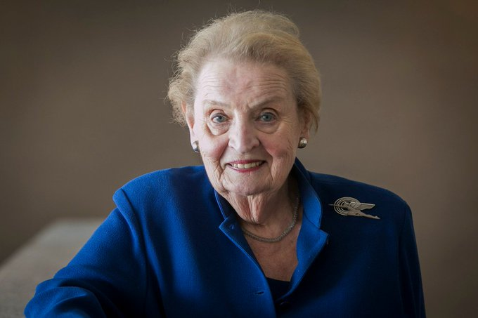 Happy birthday to our first female Secretary of State, Madeleine Albright, born today in 1937!
