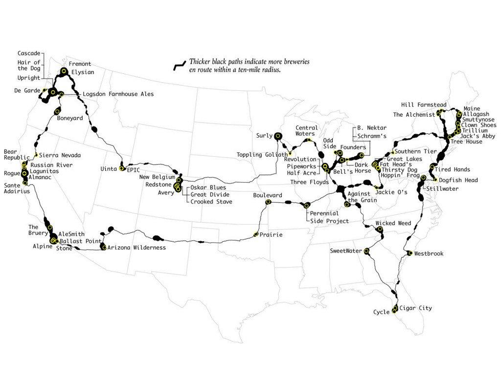 The ultimate brewery road trip: https://t.co/jPn4nVxTCY https://t.co/rruTFfis7Z