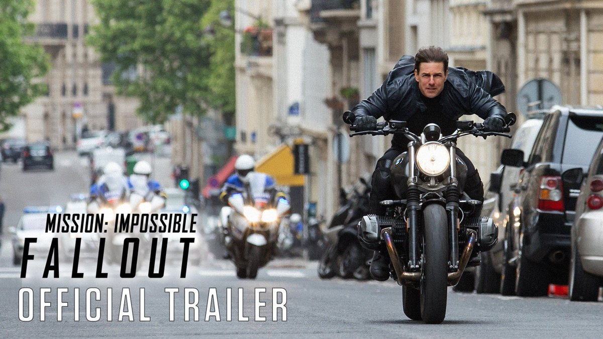 You haven't seen anything yet. #MissionImpossible Fallout. https://t.co/KlJ3II2kHa
