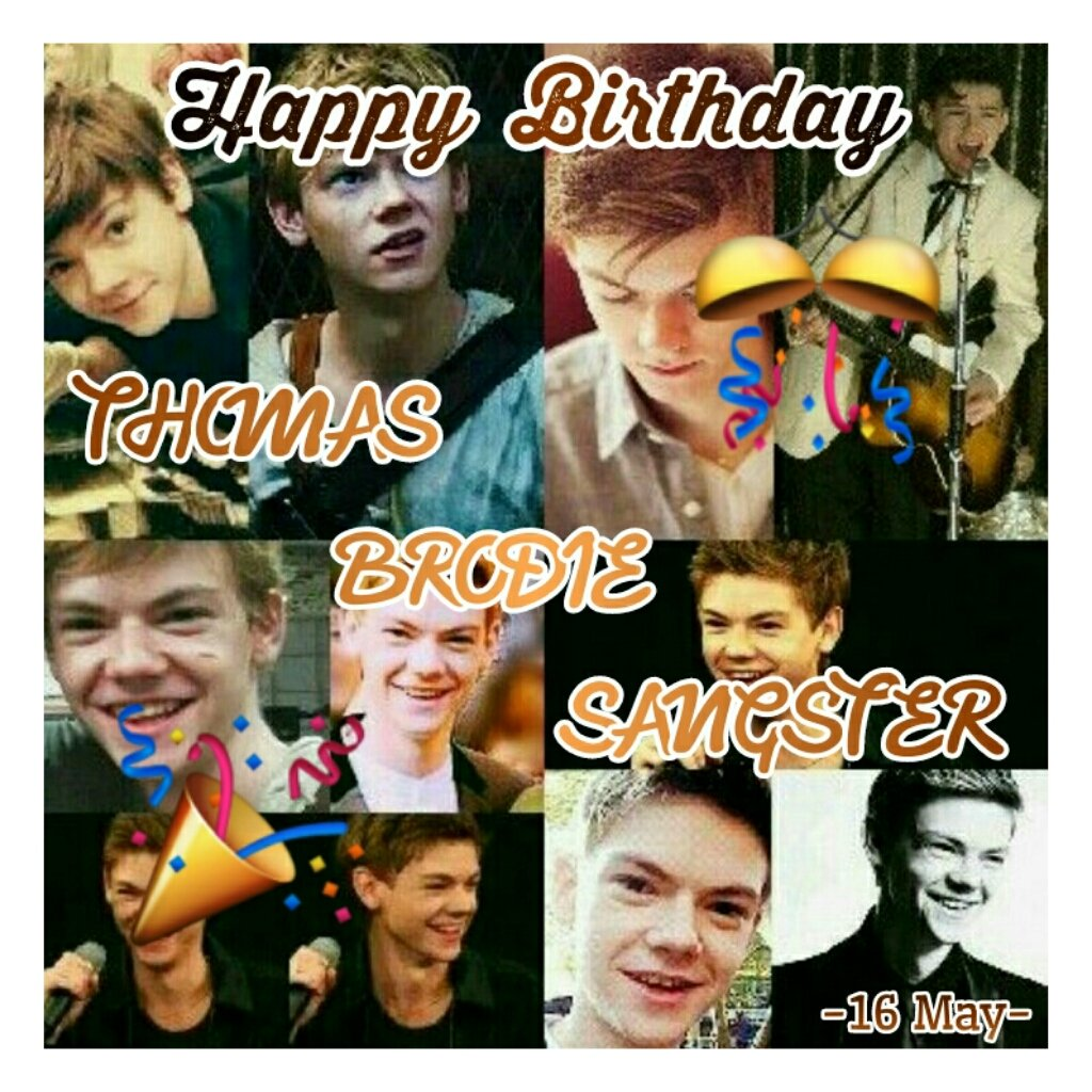 "Happy Birthday ""Thomas Brodie Sangster\"""
