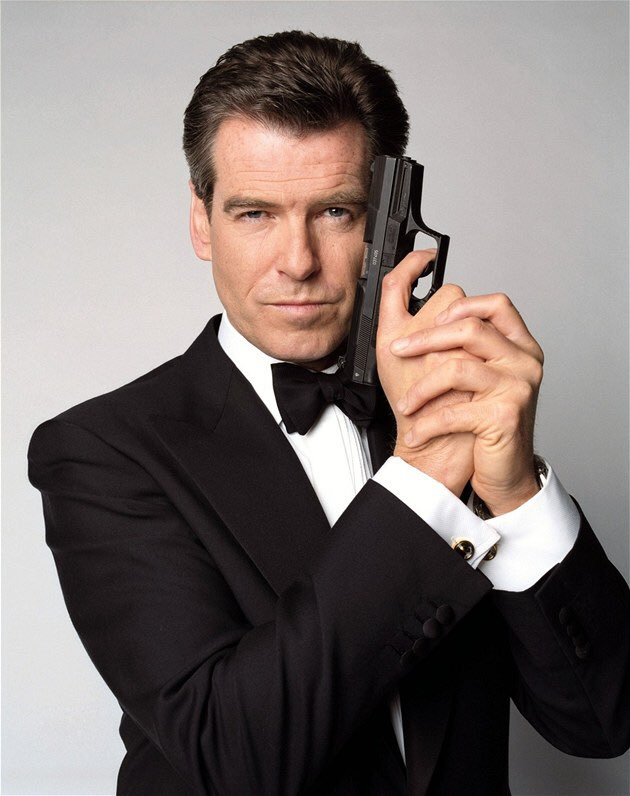 Happy birthday to my favorite second James Bond actor Pierce Brosnan