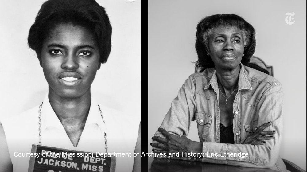 The Freedom Riders of Mississippi, then and now: https://t.co/OfbSd4vDaE https://t.co/goBfymISLX