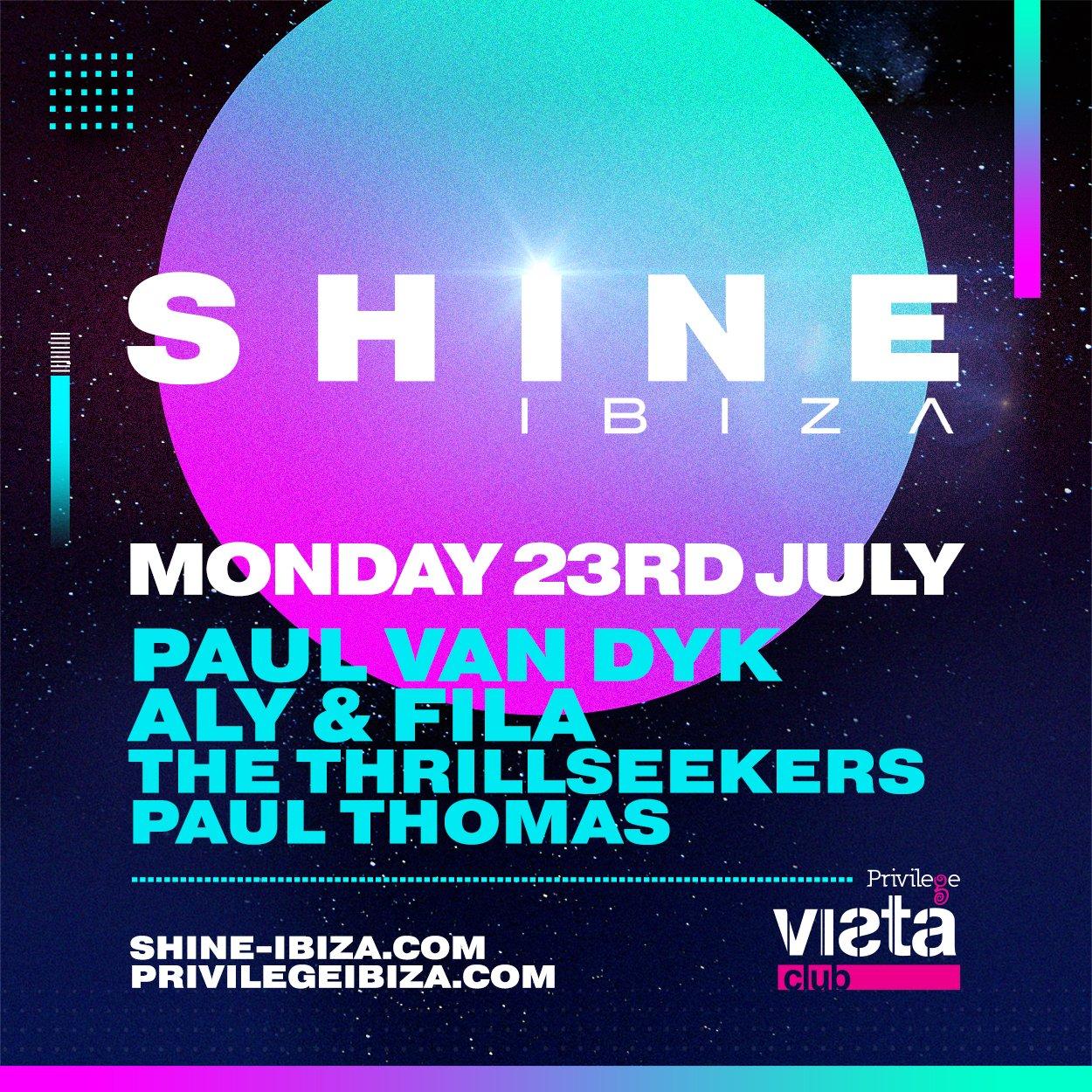 I love Mondays at @SHINE_Ibiza https://t.co/WYpaIdUN7h https://t.co/wB5aT97qnP