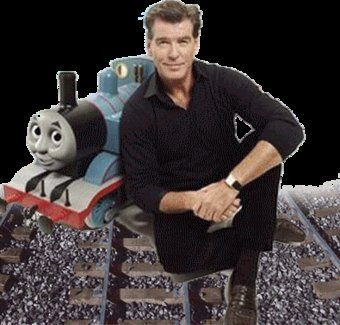 Happy 65th birthday to the Thomas Guest Narrator, Pierce Brosnan