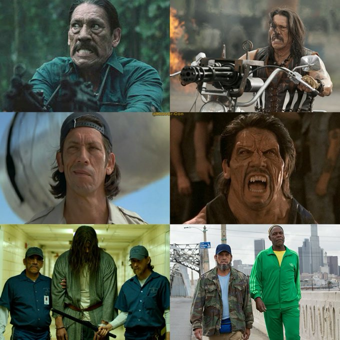 Happy 74th Birthday to bad ass Danny Trejo!