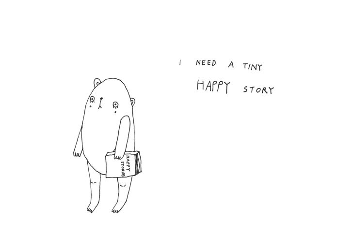 RT @hitRECord: Write a 3 word happy story & post it here: https://t.co/xWGMw2oChe https://t.co/aVeiV30DZs