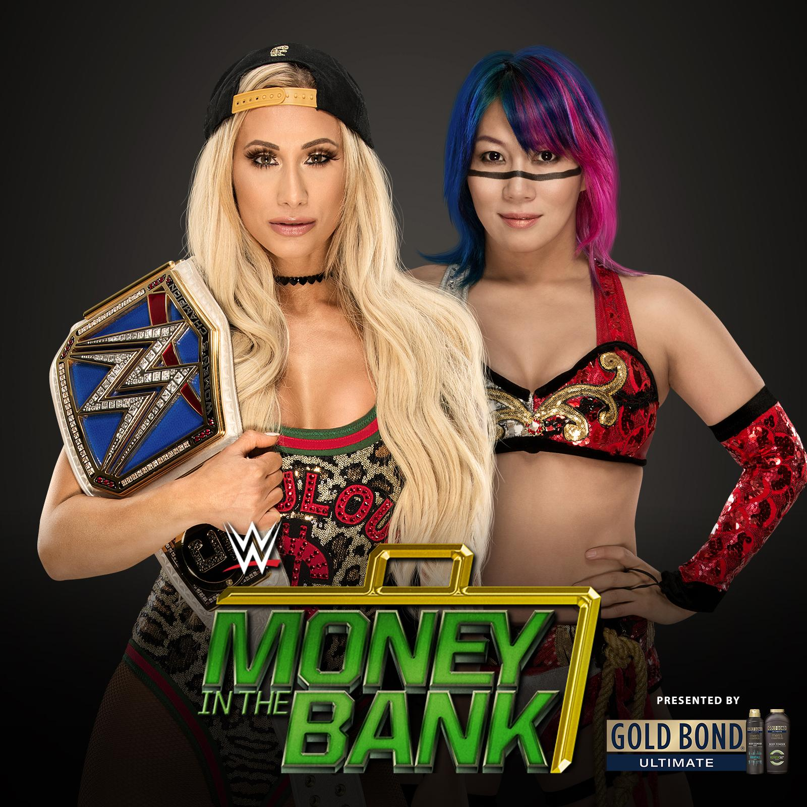Will #SDLive #WomensChampion @CarmellaWWE be ready for @WWEAsuka at @WWE #MITB?! https://t.co/fgQyAC1Kf5 https://t.co/6IzuI0XSa0