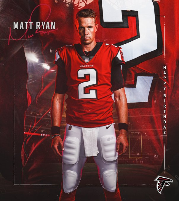 Our leader. Our QB.   to wish Matt Ryan a happy birthday!  The best is still to come!