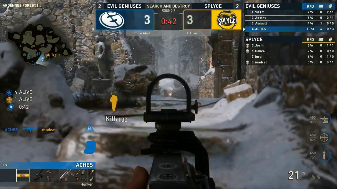 1v4 for @Jurd RIGHT AFTER a 1v3!  https://t.co/pUVEvOiNYf // #CWLPS4 https://t.co/4XsunFSIJF