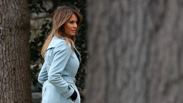 Melania Trump says she's 'feeling great' after kidney procedure https://t.co/JPgX8oVKwX https://t.co/bR5pOV3nQ2
