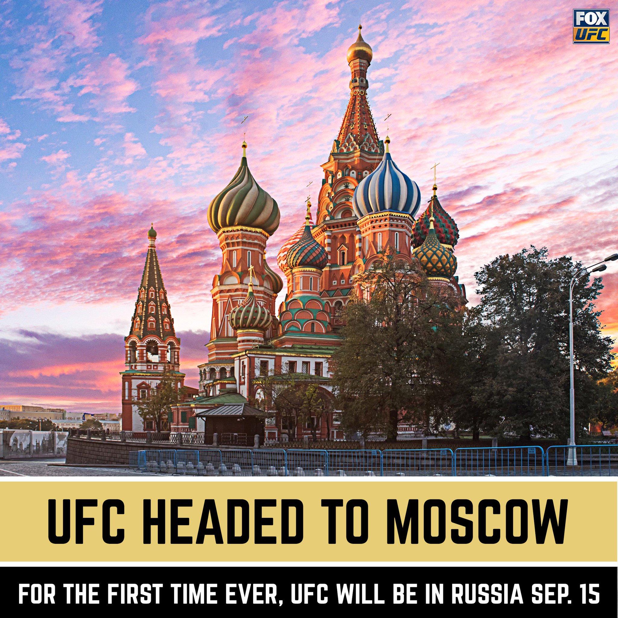 UFC is Russia Bound �� https://t.co/MgcsgiMOdU