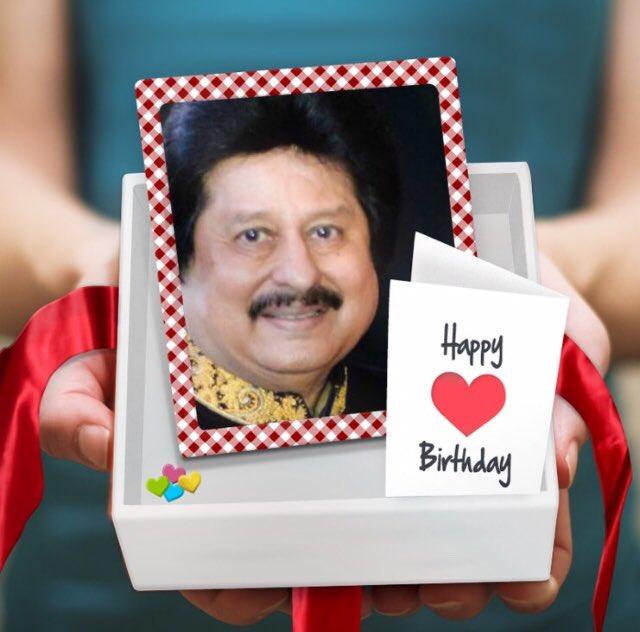 Happy Birthday Pankaj Udhas Ji...