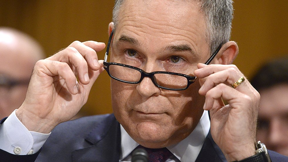 Dem senator mocks Pruitt over alleged security threats: 'Nobody even knows who you are' https://t.co/YImeNHQq53 https://t.co/GlXQDnjGTl