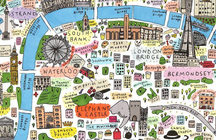 Artist goes to town on illustrated London map: https://t.co/3f8Eh1229g https://t.co/HWJQnBnl5n