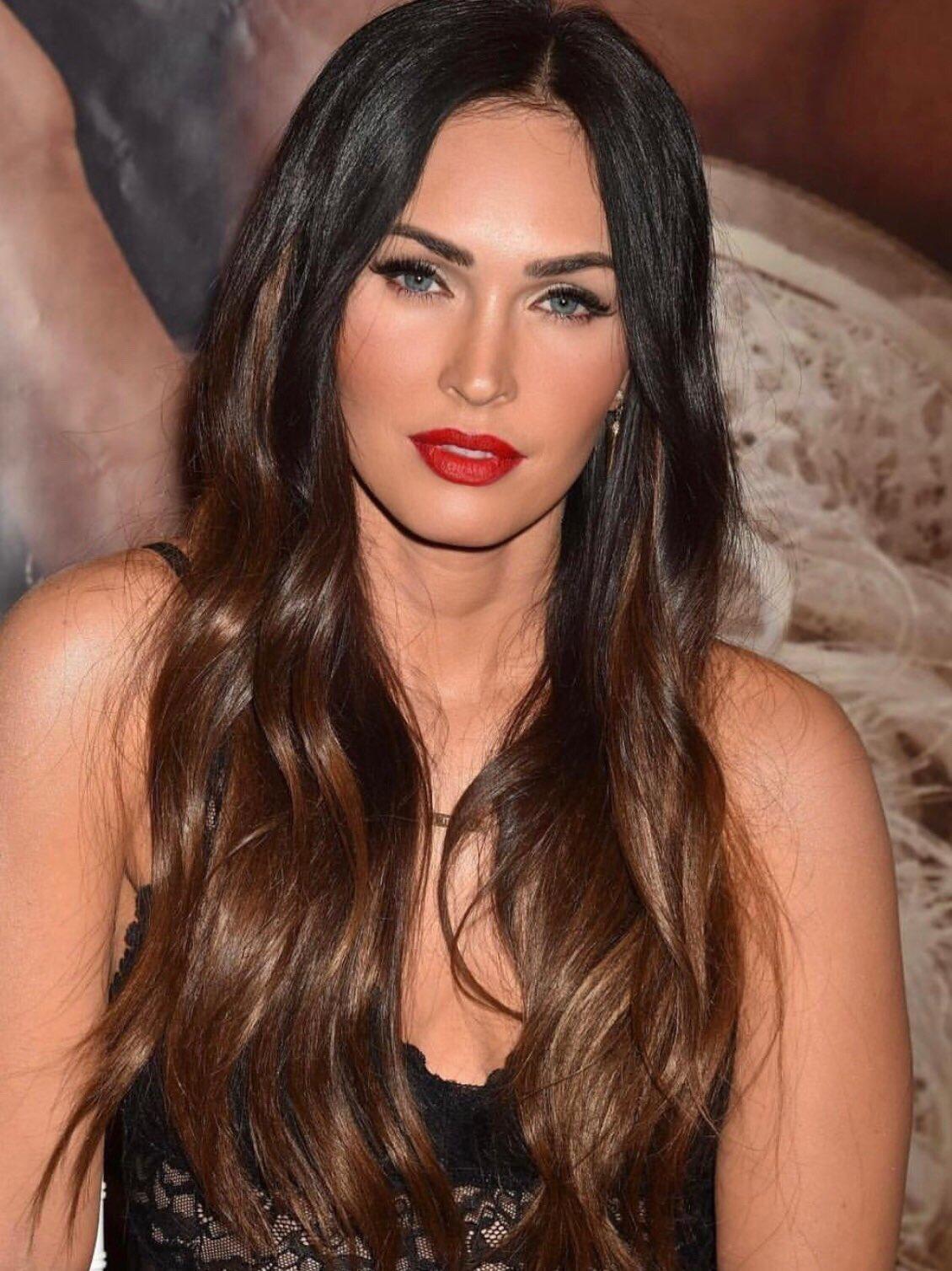 Happy birthday to this Queen, Megan Fox. My inspiration & main reason I love dark hair lol