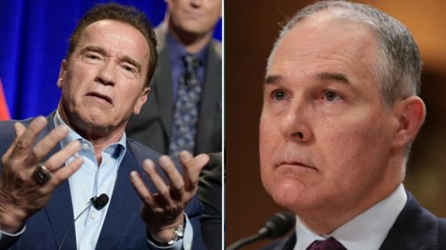 Schwarzenegger to Pruitt: Drink contaminated water 'until you tap out or resign' https://t.co/FChzwB861P https://t.co/sLWe868pJL