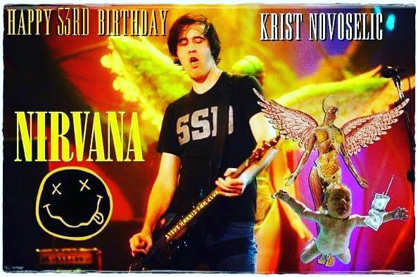Happy 53rd Birthday Krist Novoselic