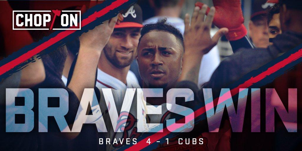 Braves WIN! #ChopOn https://t.co/hOi75fEvsG