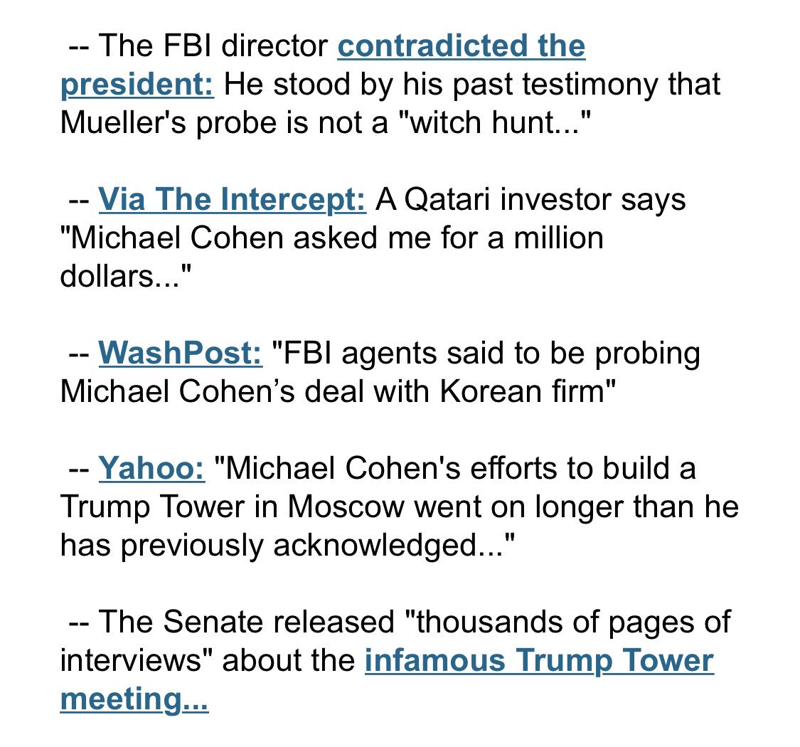 Just some of what happened today in Trumpworld... https://t.co/T8d5CDnr1D https://t.co/H3a8jhhSLz