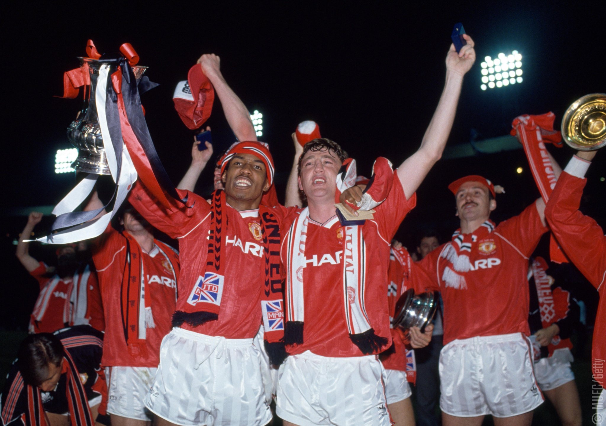 #OnThisDay in 1990, #MUFC beat Crystal Palace 1-0 in a replay to win the #FACup...   2️⃣ days to go... �� https://t.co/oFAq5lfw0z