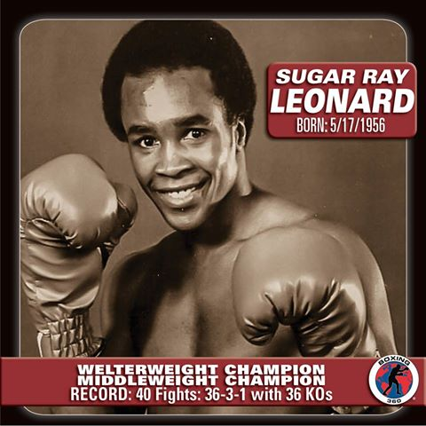 Happy birthday Sugar Ray Leonard(17.5.1956)