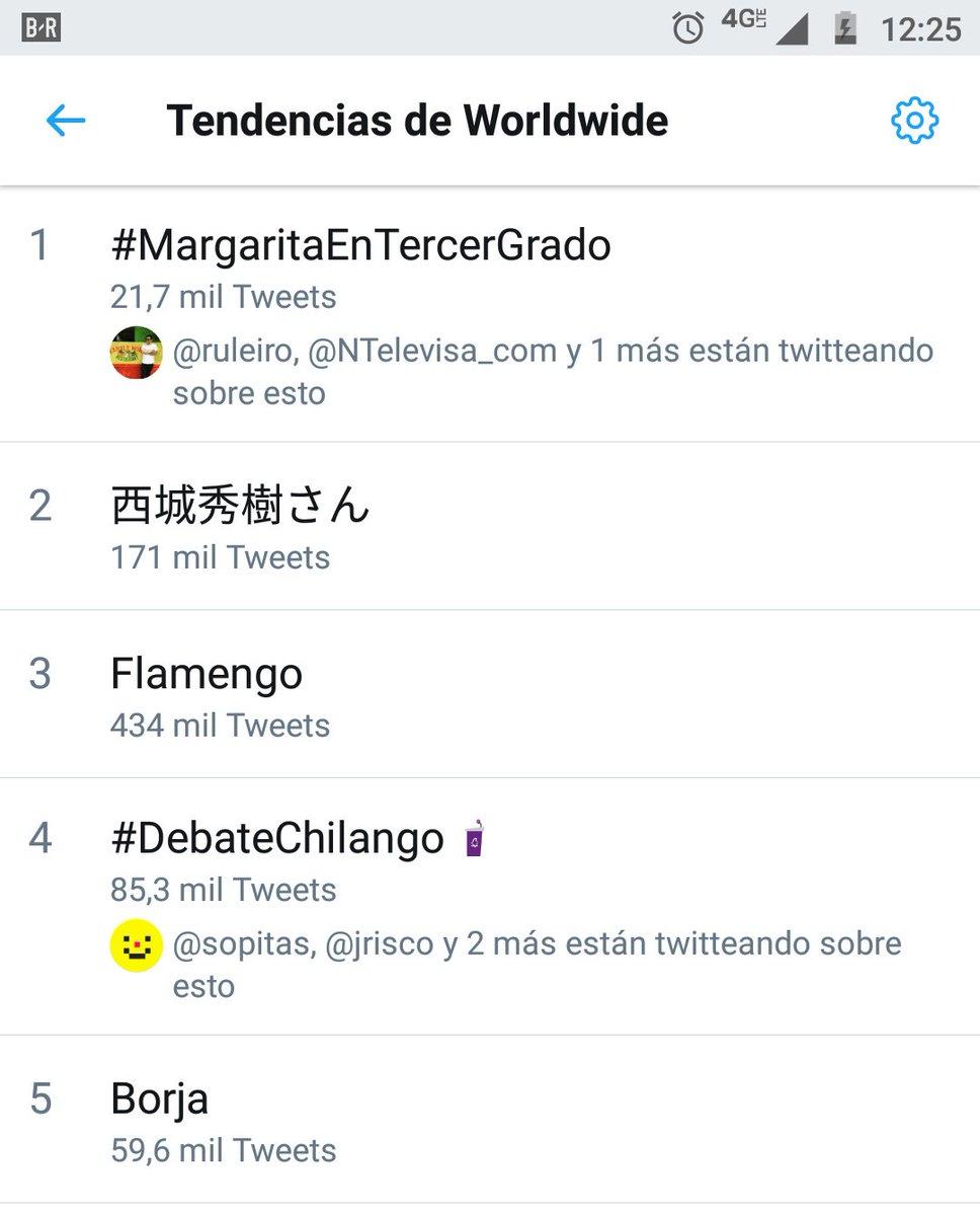 #MargaritaEnTercerGrado
