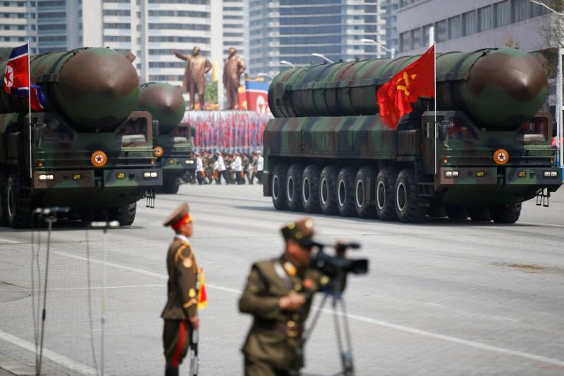 U.S. demanded North Korea ship some nuclear warheads, ICBM abroad within six months: media https://t.co/x81P1CFai5 https://t.co/vjbSGKaueZ