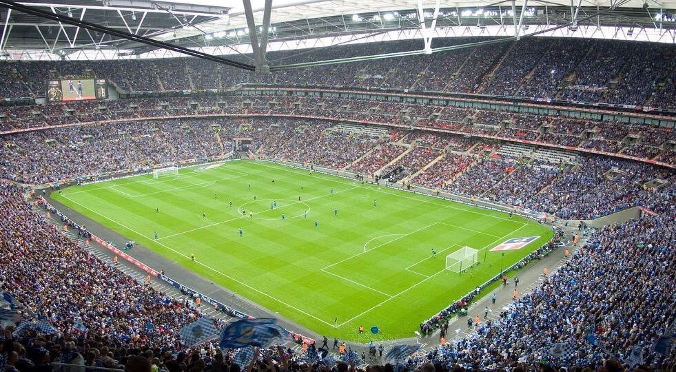 89,874 - Highest football attendance at new @wembleystadium for the 2008 FA Cup Final #Pompey v Cardiff City. #PompeyHistory https://t.co/gVxyqooQ7T