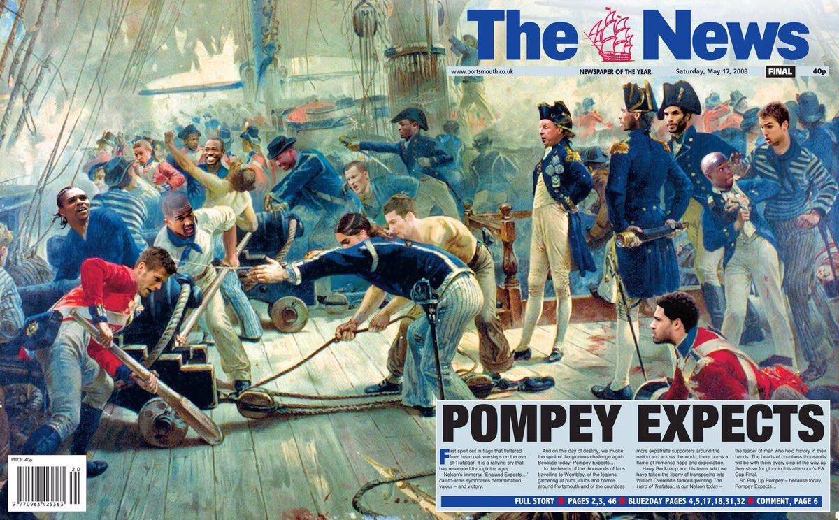 #OTD 2008: #Pompey Expects #PompeyHistory https://t.co/izv8Wrr80r